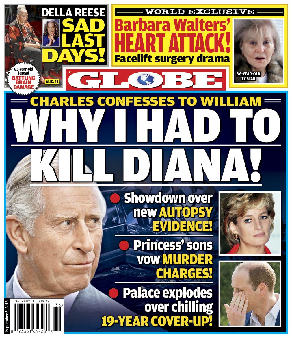 Globe Cover Charles
