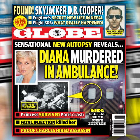 Front Page Globe Magazine